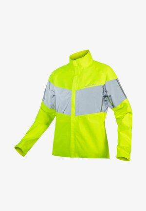 URBAN LUMINITE WATERPROOF - Cycling Jersey - hellgelb