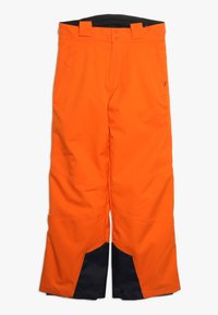 Kjus - BOYS VECTOR PANTS - Snow pants - orange - 2