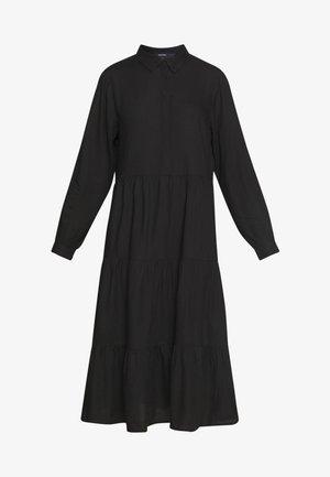 PEARL DRESS - Shirt dress - black dark unique