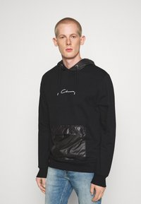 CLOSURE London - CONTRAST UTILITY HOODY - Sweat à capuche - black - 0
