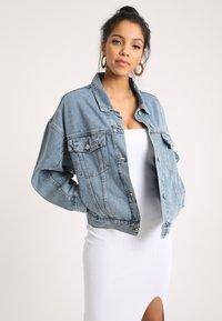 Pimkie - Denim jacket - ausgewaschenes blau - 3