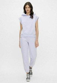 Pieces - Print T-shirt - purple heather - 1