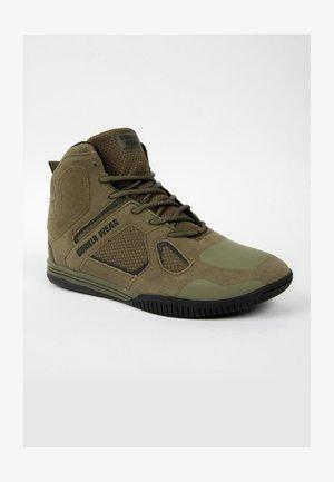 TROY  - Sneakers hoog - dark green