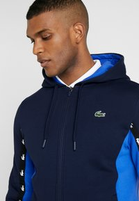 Lacoste Sport - Mikina na zip - navy blue/obscurity navy blue - 4