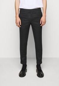 Filippa K - TERRY TROUSER - Kalhoty - dark grey - 0