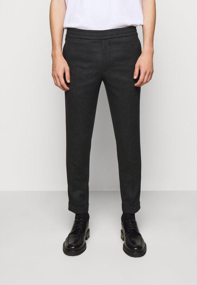 TERRY TROUSER - Pantalon classique - dark grey