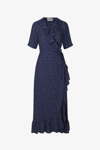 JUST FEMALE - DAISY MAXI WRAP DRESS - Maxi dress - patriot blue - 5