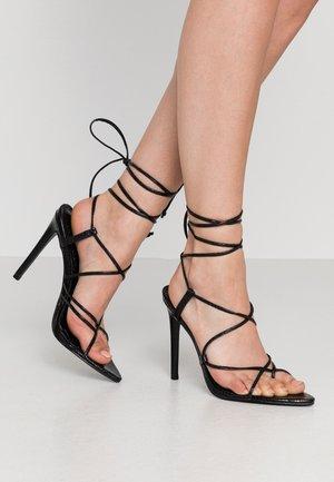 CARREGAL - Sandály na vysokém podpatku - other black