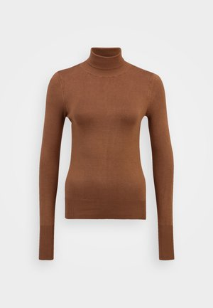 ONLVENICE ROLLNECK - Jumper - toasted coconut
