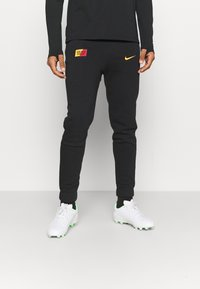 Nike Performance - GALATASARAY ISTANBUL PANT - Club wear - black/vivid orange - 0