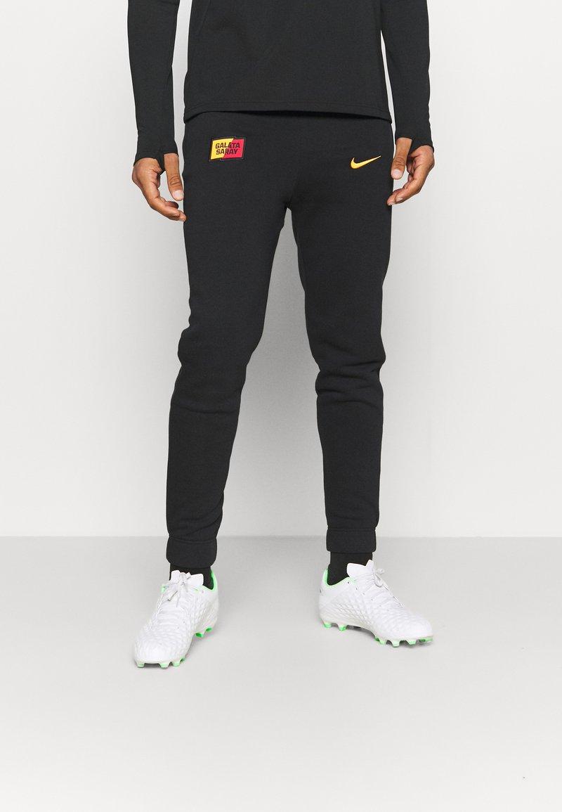 Nike Performance - GALATASARAY ISTANBUL PANT - Club wear - black/vivid orange
