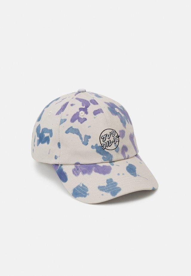 OPUS JAPANESE DOT TIE DYE UNISEX - Cap - white lavender drip
