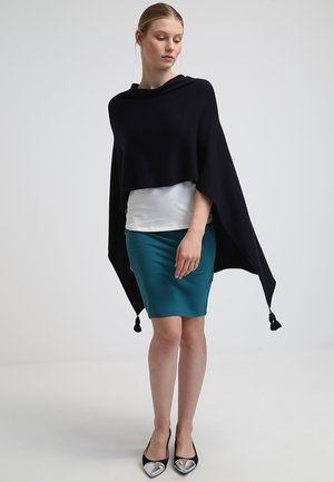PONCHO - Cape - dark blue