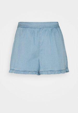 VILAJLA BISTA - Short - medium blue denim