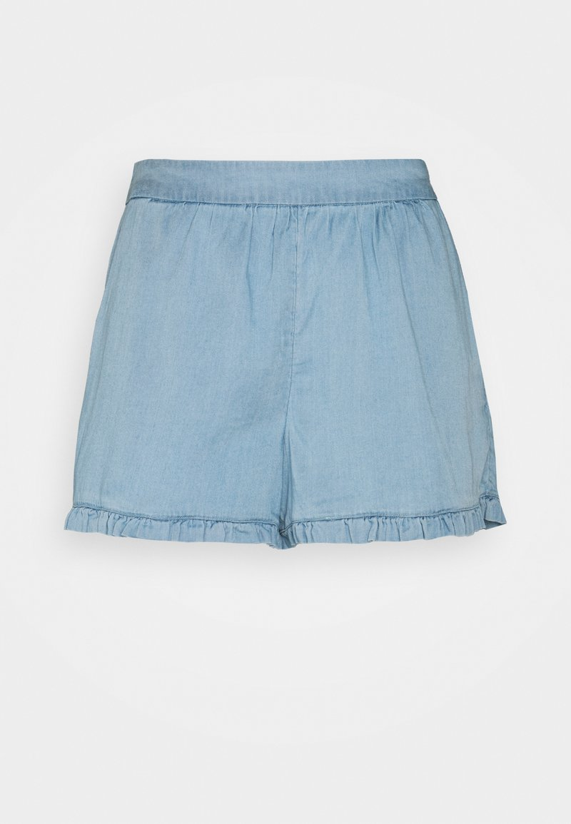 Vila - VILAJLA BISTA - Shorts - medium blue denim