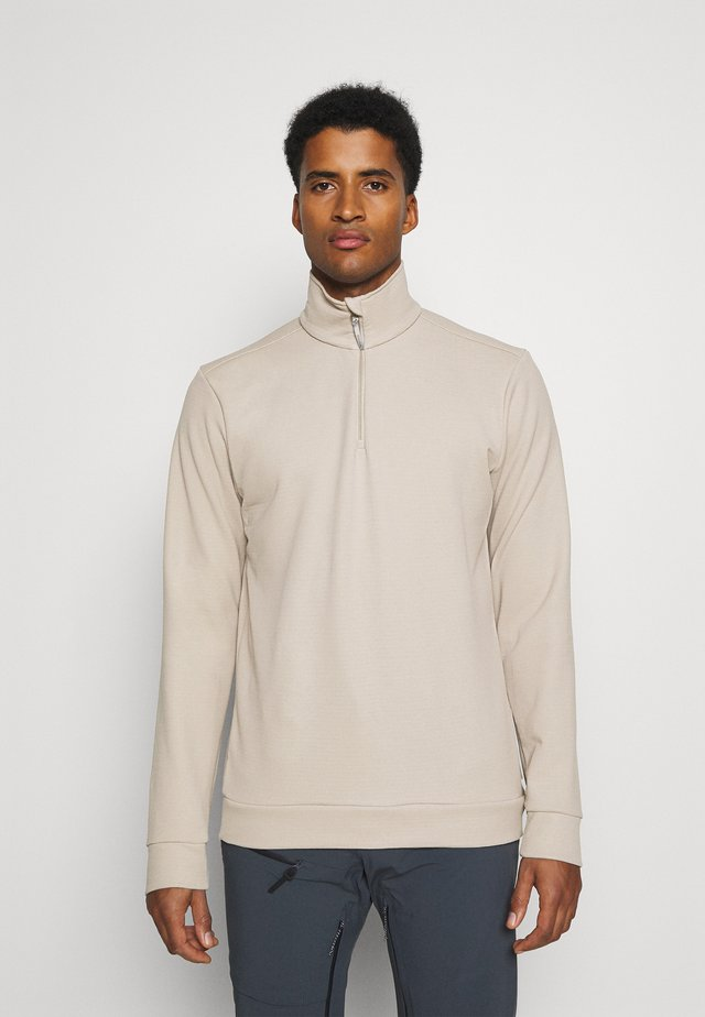 MONO AIR HALFZIP - Sweater - sandstorm