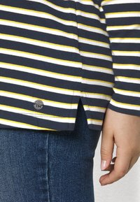 MY TRUE ME TOM TAILOR - Long sleeved top - navy yellow white stripe - 5