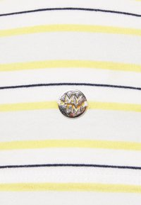 MY TRUE ME TOM TAILOR - MULTICOLOR STRIPES - Print T-shirt - soft blue/yellow - 2