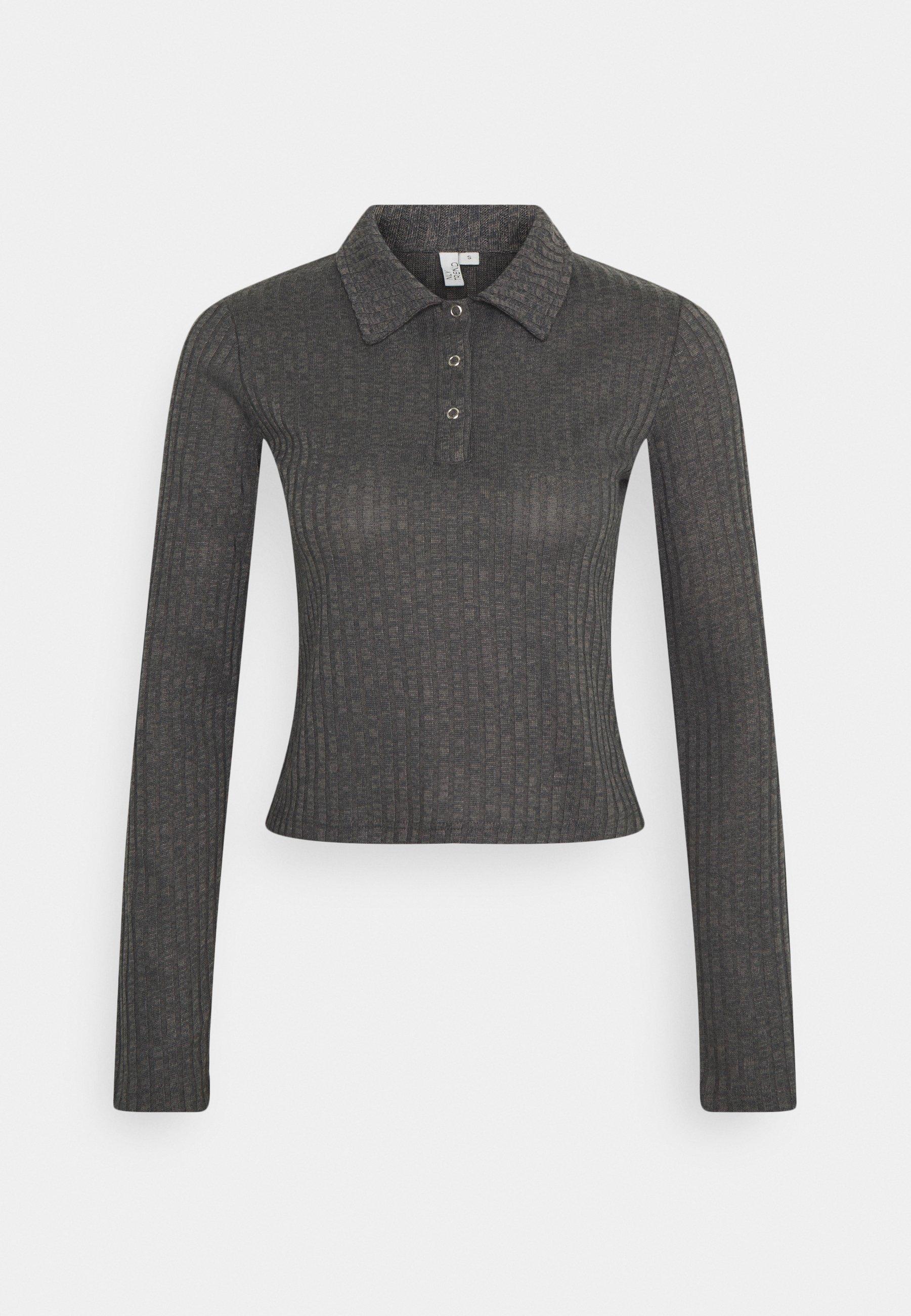 Women BUTTON UP COLLAR - Polo shirt