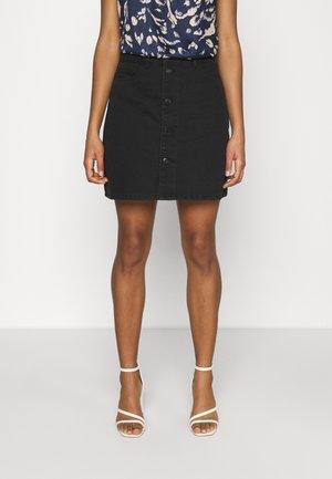 VMHARPER SKATER SKIRT - Mini skirt - black