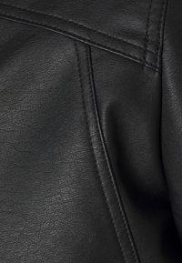Jack & Jones - JJLOGAN JACKET - Faux leather jacket - black - 2