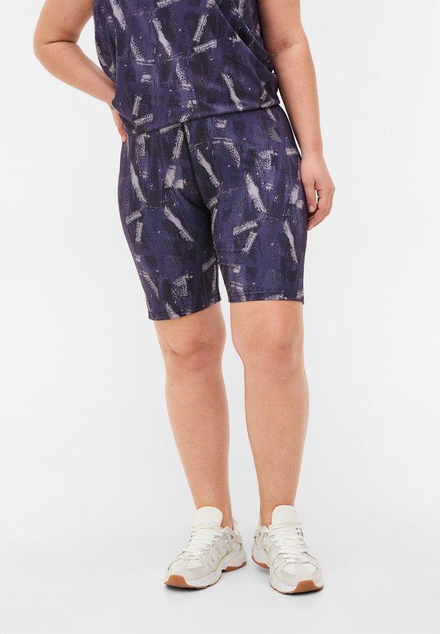 Shorts - geo print