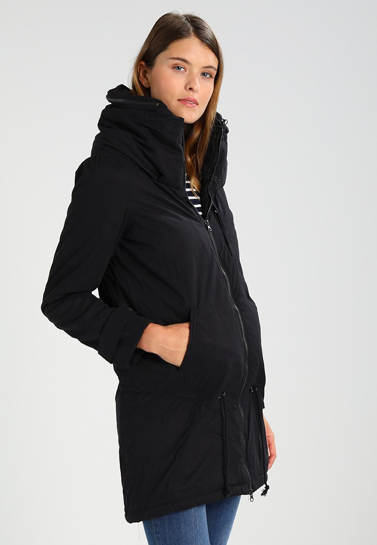 MAMALICIOUS - TIKKA CARRY ME PADDED JACKET - Abrigo de invierno - black