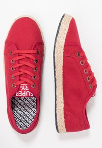 Superdry - LACE UP  - Espadrilles - rouge red - 3
