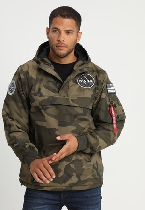 NASA ANORAKFUNKTION - Veste coupe-vent - oliv
