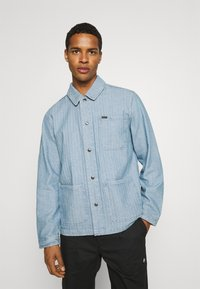 Brixton - SURVEY RESERVE CHORECOAT - Summer jacket - worn indigo - 0