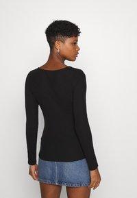 YAS - YASZEMMA - Long sleeved top - black - 2