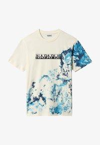 Napapijri - Print T-shirt - new milk - 4