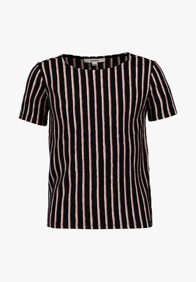 T-shirt imprimé - off black