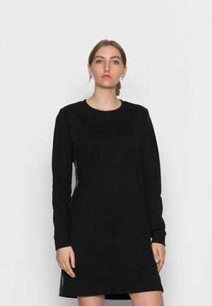 LOGO TAPE - Day dress - black