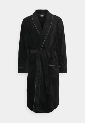 BATHROBE - Dressing gown - schwarz
