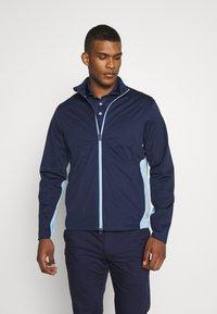 Polo Ralph Lauren Golf - STRATUS UNLINED JACKET - Vodotěsná bunda - french navy/powder blue - 0