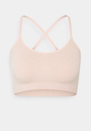 DIM LEISURE CROP - Bustier - heather pink