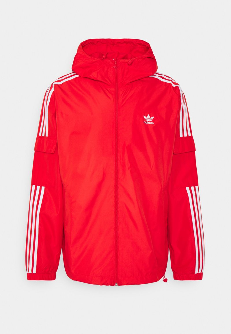 adidas Originals - 3 STRIPES UNISEX - Kurtka wiosenna - red