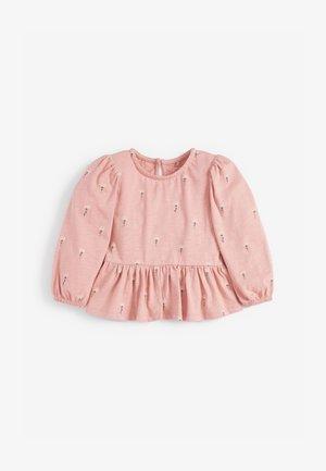 PEPLUM  - Blouse - pink