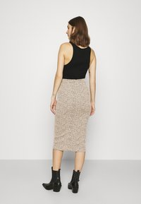 Banana Republic - PENCIL - Pencil skirt - neutral leopard - 2