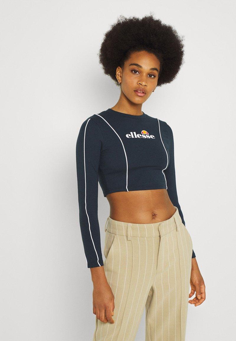 Ellesse - RUSSIA CROP  - Langærmede T-shirts - navy