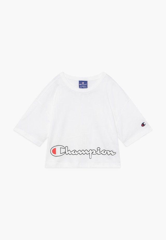 ROCHESTER LOGO CREWNECK  - T-shirt imprimé - white