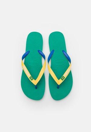 BRASIL MIX UNISEX - Flip Flops - tropical green