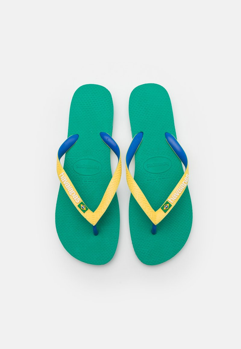 Havaianas - BRASIL MIX UNISEX - Flip Flops - tropical green