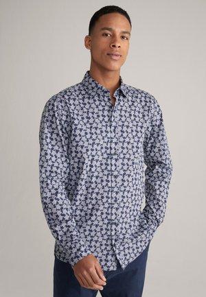 Shirt - navy/weiß