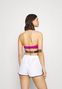 Calvin Klein Swimwear - INTENSE POWER CROSSOVER BRALETTE - Bikini pezzo sopra - purple - 2