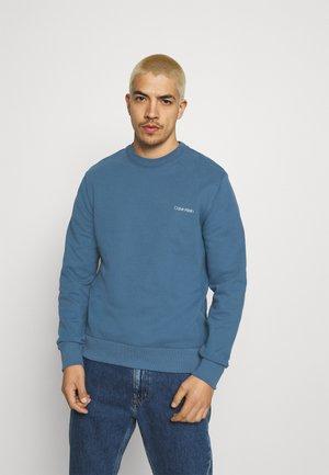 SMALL CHEST LOGO - Collegepaita - blue