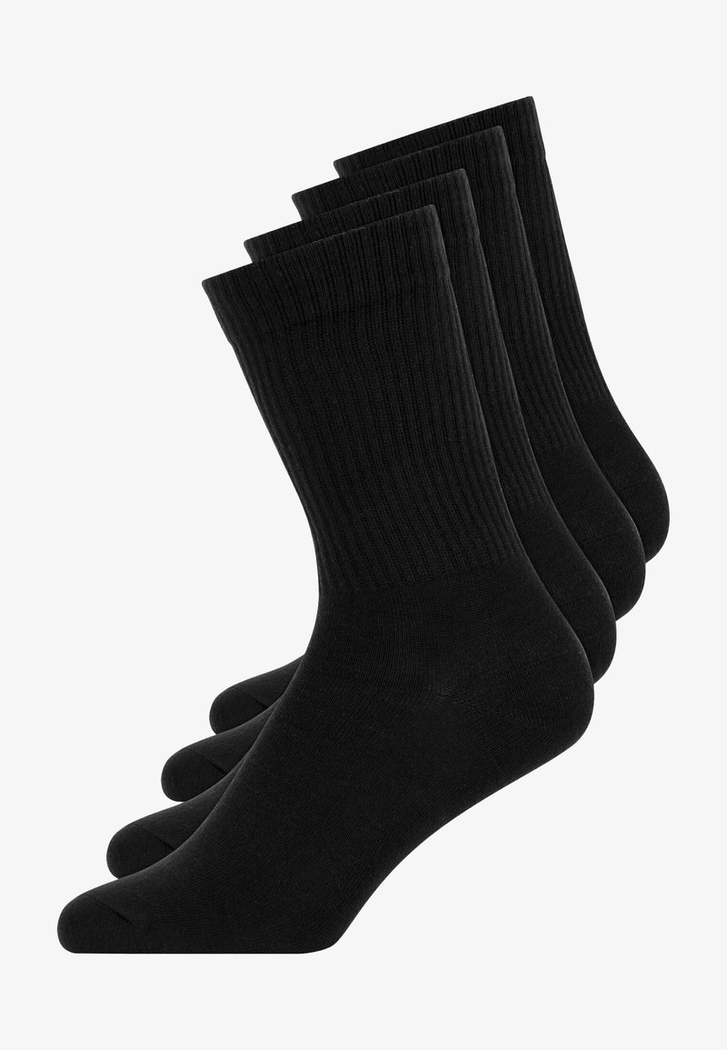 SNOCKS - CREW TENNIS - Socks - schwarz