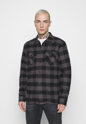 JERRY  - Shirt - black check