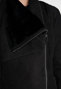 VSP - CLASSIC ZIPPER - Classic coat - merino black - 6